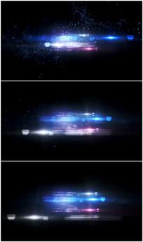 光晕爆炸特效视频