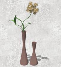 简单精致花瓶SU模型