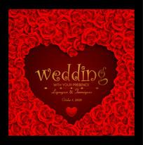 欧式婚礼背景板
