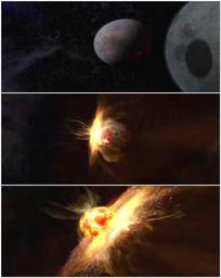 行星撞击世界末日视频 mov