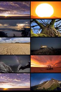 延时摄影大自然风景视频