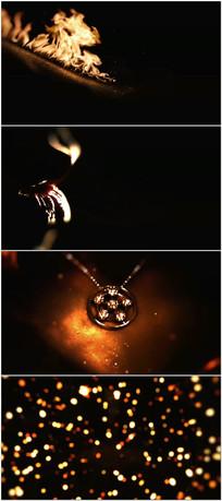 震撼火焰效果广告视频