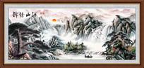 高清风景画国画