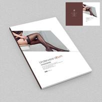 女性丝袜产品画册封面设计
