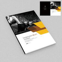 情趣内衣宣传画册封面设计