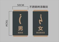 卫生间标识