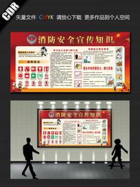 消防安全宣传展板