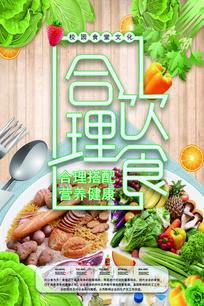 学校食堂文化海报设计