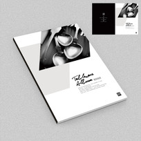 不锈钢艺术餐具画册封面