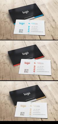 个性简约创意企业名片设计
