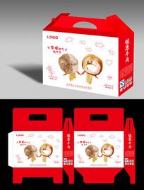 精品黄牛肉包装盒设计
