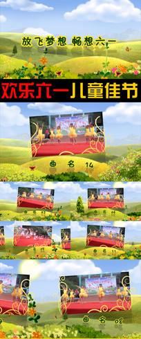 六一儿童节春天的童话乐园文艺汇演视频