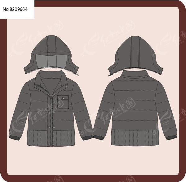 男成人男童冬季棉衣外套图片