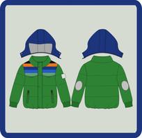 男童冬季棉衣 CDR