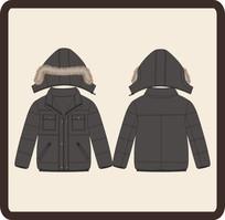 男童冬季棉衣外套