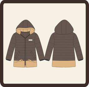 男装男童冬季羽绒服