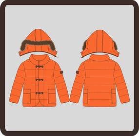 男装男童冬季羽绒服棉衣
