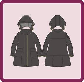 女成人女装童装大衣