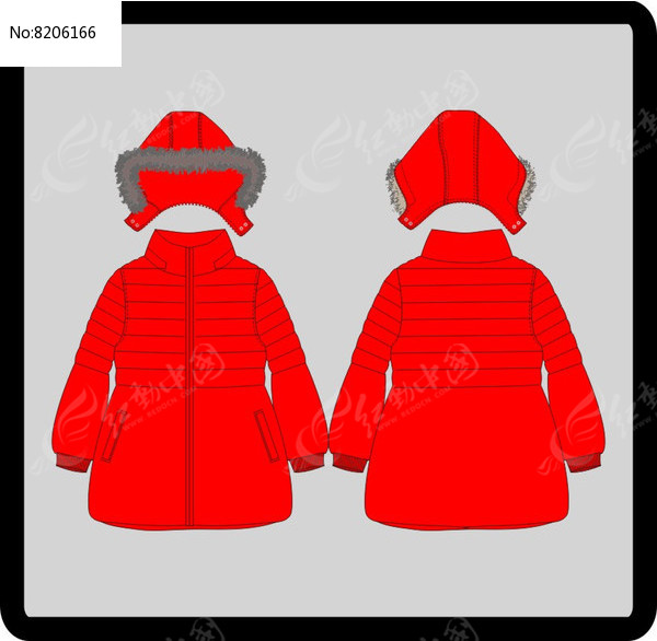 女成人女装童装冬季棉衣图片