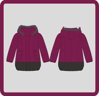 女装女童冬季羽绒服