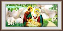 圣母装饰画