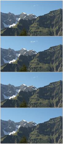 雄伟壮丽奥地利山脉自然风光实拍
