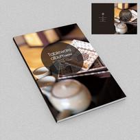 中式餐饮餐具厨具画册封面设计