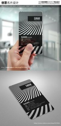 高档个性创意时尚指纹识别透明名片