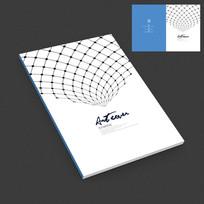 互联网网络科技画册封面设计