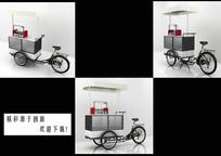 三轮车3D模型