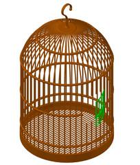 CAD三维图纸鸟笼 dwg