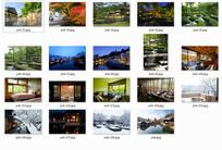 虹夕诺雅——日本温泉酒店景观 JPG