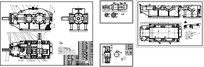 减速器装配图CAD 二维图纸