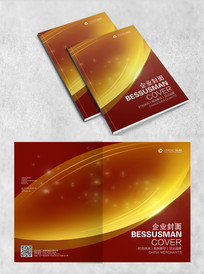 金融保险行业通用画册封面