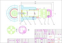 千斤顶装配图CAD二维图纸