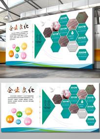 企业文化墙立体展板