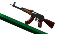 新AK47CAD三维图纸 dwg