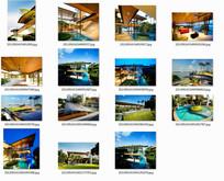 新加坡度假海景别墅庭院景观设计