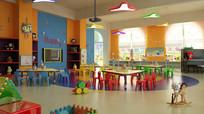 幼儿园多角度整体3D模型下载