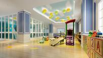 幼儿园整体3d效果图模型下载