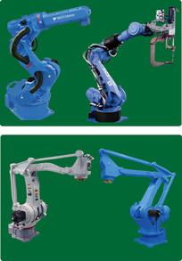 安川工业机器人矢量图