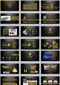 互联网科技金融公司介绍PPT模板