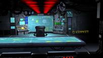 数据库机房控制室3D模型