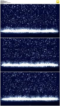 下落的粒子瀑布动态视频素材