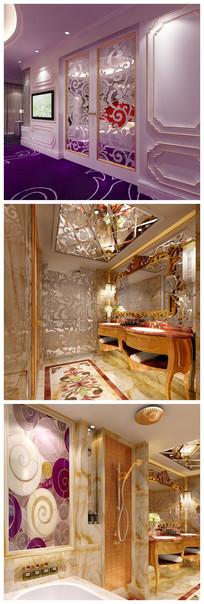 女生房间3D模型