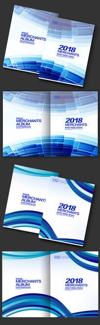深蓝色科技封面设计