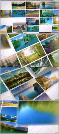 图片相册汇聚照片墙动画视频