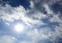 清晨的天空景观贴图素材 JPG