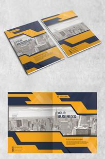 城市建筑画册封面