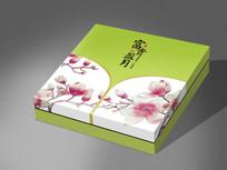 富贵盈月中秋礼盒包装设计